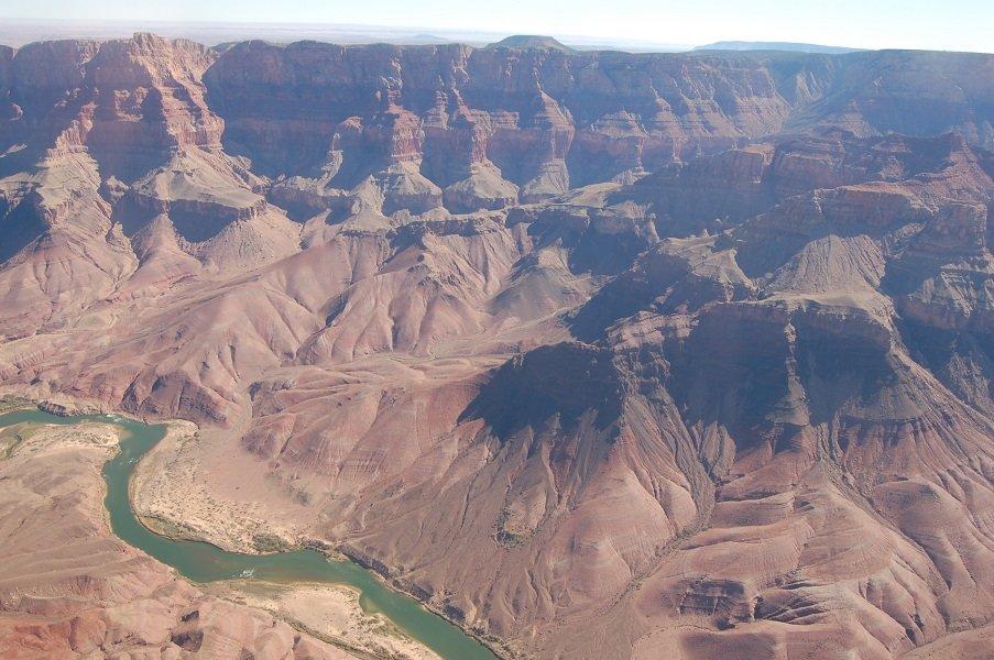 Vol au dessus du Grand Canyon